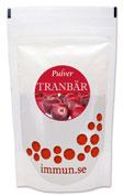Tranbärspulver